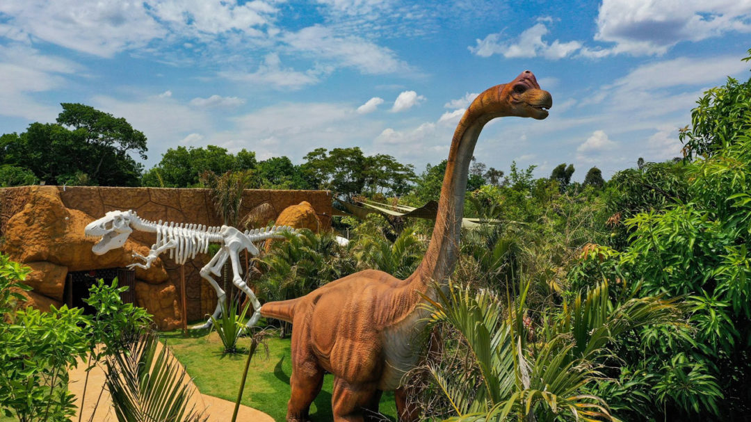 Vale dos Dinossauros em Olímpia